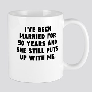 Ive Been Married For 50 Years Mugs
