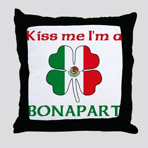 Bonapart Family Throw Pillow