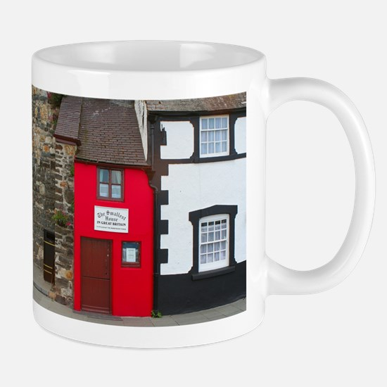 Smallest house in Great Britain Mugs