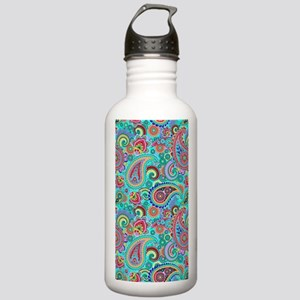 Retro Colorful Vintage Stainless Water Bottle 1.0L