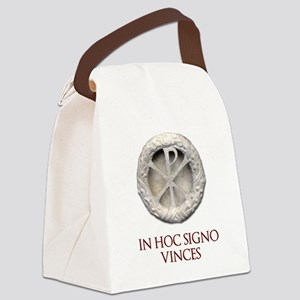 Customizable Christogram Canvas Lunch Bag