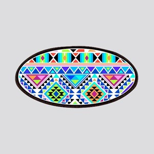 Colorful Tribal Geometric Pattern Patch