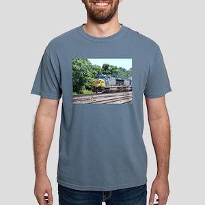 CSX Q190 Doublestack Train Ash Grey T-Shirt