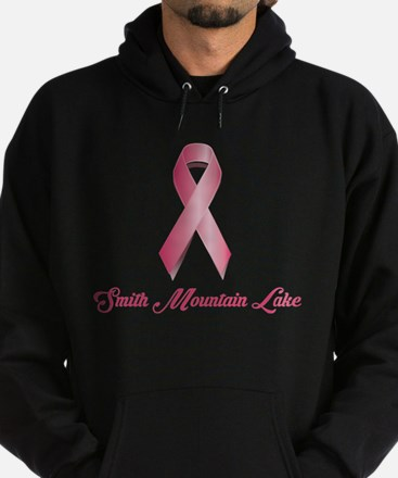 Smith Mountain Lake - Breast Cancer Hoodie (dark)