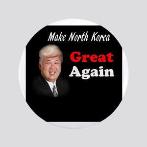 "Make Korea Great Again 3.5"" Button"