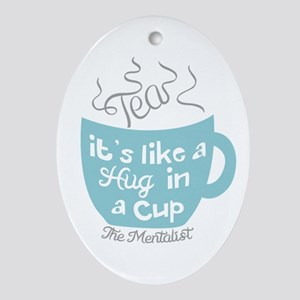 The Mentalist Oval Ornament
