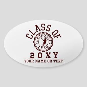 Class Of 20?? Girl Lacrosse Sticker