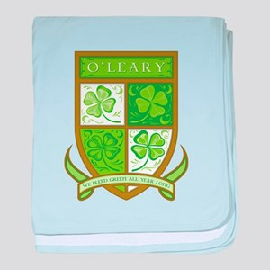 O'LEARY baby blanket