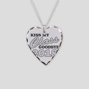 Kiss Goodbye Class 2018 Necklace Heart Charm