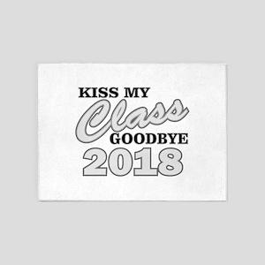 Kiss Goodbye Class 2018 5'x7'Area Rug