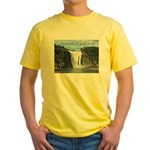 Montmorency Falls at Large Yellow T-Shirt