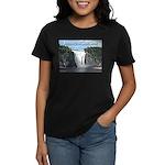 Montmorency Falls at Large Women's Dark T-Shirt
