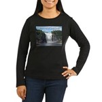 Montmorency Falls at Large Women's Long Sleeve Dar