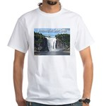 Montmorency Falls at Large White T-Shirt