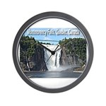 Montmorency Falls at Large Wall Clock