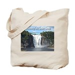 Montmorency Falls at Large Tote Bag