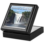 Montmorency Falls at Large Keepsake Box