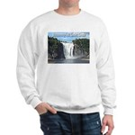 Montmorency Falls at Large Sweatshirt