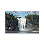 Montmorency Falls at Large Rectangle Magnet (100 p