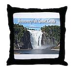 Montmorency Falls at Large Throw Pillow