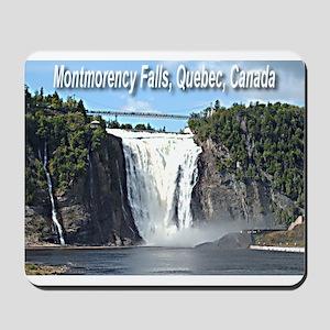 Montmorency Falls at Large Mousepad