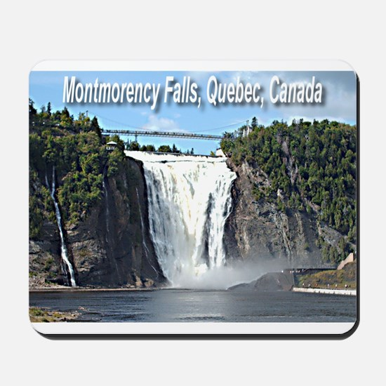 Montmorency Falls at Large Mousepad