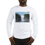 Montmorency Falls at Large Long Sleeve T-Shirt