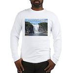 Montmorency Falls at Large Long Sleeve T-Shirt