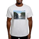 Montmorency Falls at Large Light T-Shirt