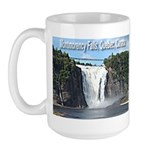 Montmorency Falls at Large Large Mug