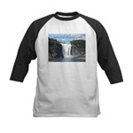 Montmorency Falls at Large Kids Baseball Jersey