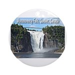 Montmorency Falls at Large Ornament (Round)