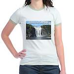 Montmorency Falls at Large Jr. Ringer T-Shirt