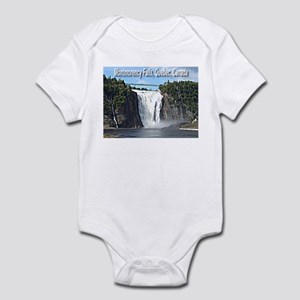 Montmorency Falls at Large Infant Bodysuit