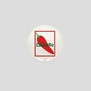 Caliente Red Hot Chili Pepper Mini Button
