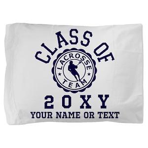 Class of 20?? Lacrosse Pillow Sham