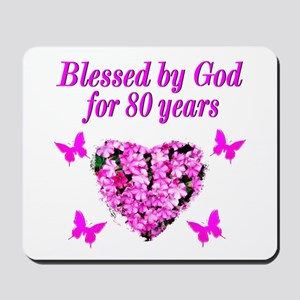 BLESSED 80TH Mousepad