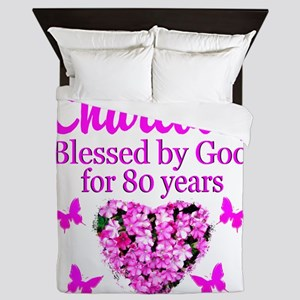 80TH PRAYER Queen Duvet
