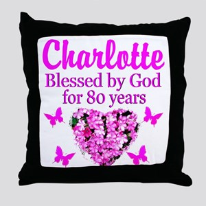 80TH PRAYER Throw Pillow