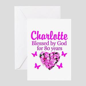 80TH PRAYER Greeting Card