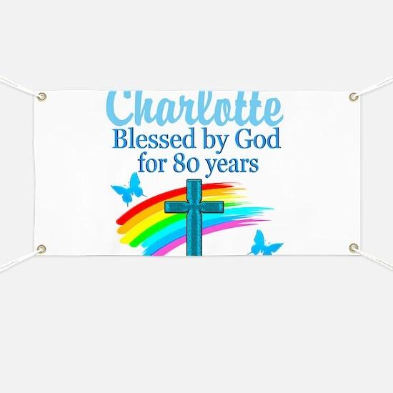 80TH PRAYER Banner