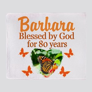 80TH PRAYER Throw Blanket