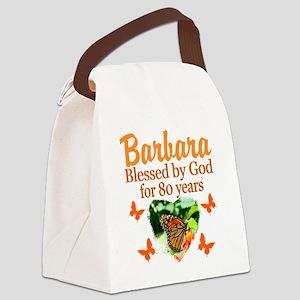 80TH PRAYER Canvas Lunch Bag