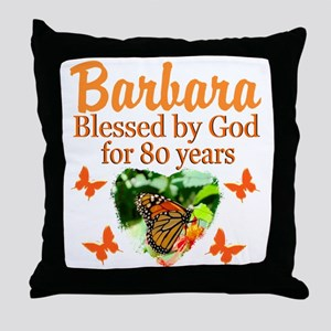 80TH PRAYER Throw Pillow
