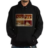 Giraffe Dark Hoodies