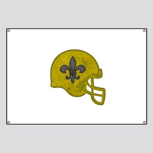 Rustic Helmet Banner