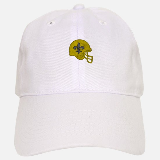 Rustic Helmet Baseball Baseball Cap