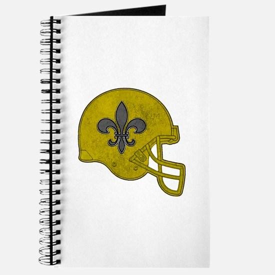 Rustic Helmet Journal