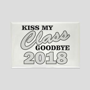 Kiss Goodbye Class 2018 Magnets