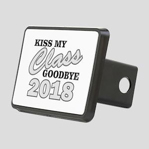 Kiss Goodbye Class 2018 Rectangular Hitch Cover